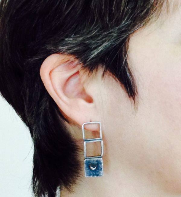 Blink earrings. Jane Pellicciotto