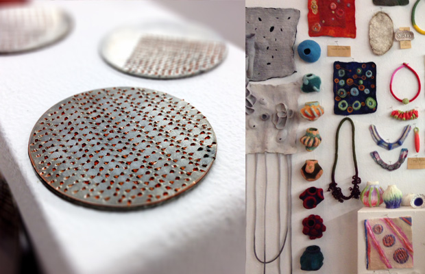 Japanese metal techniques and felting class at Penland School of Crafts