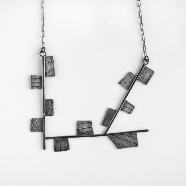 Fragment necklace. Sterling silver. Jane Pellicciotto