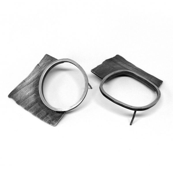 Fragment Hoop Earrings. Jane Pellicciotto