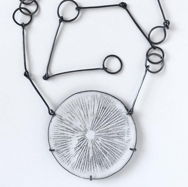 Spore Print Necklace. Jane Pellicciotto