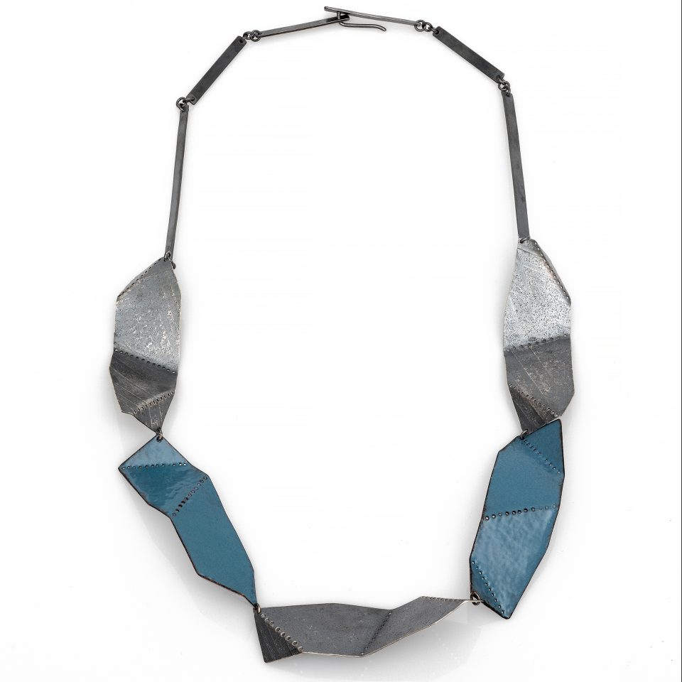 Between the Folds necklace. Jane Pellicciotto