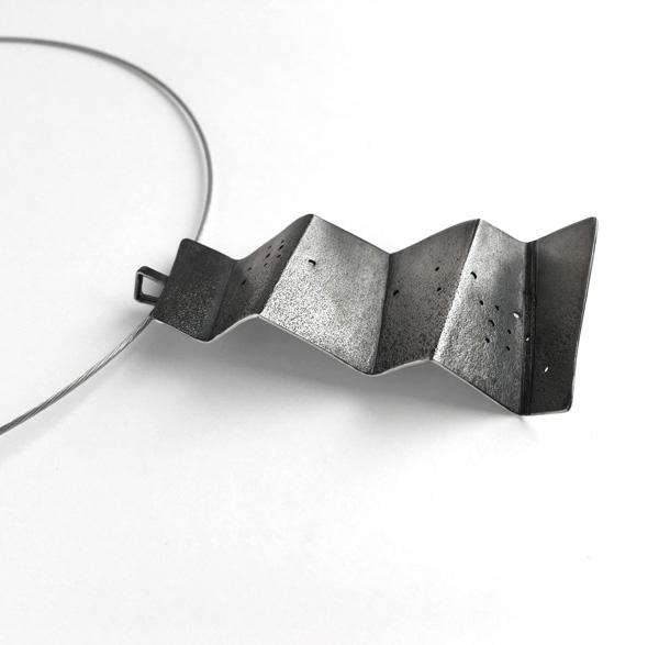 Fold Pendant by Jane Pellicciotto