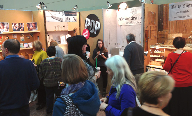 Hip Pop booths @craftcouncil Baltimore show.