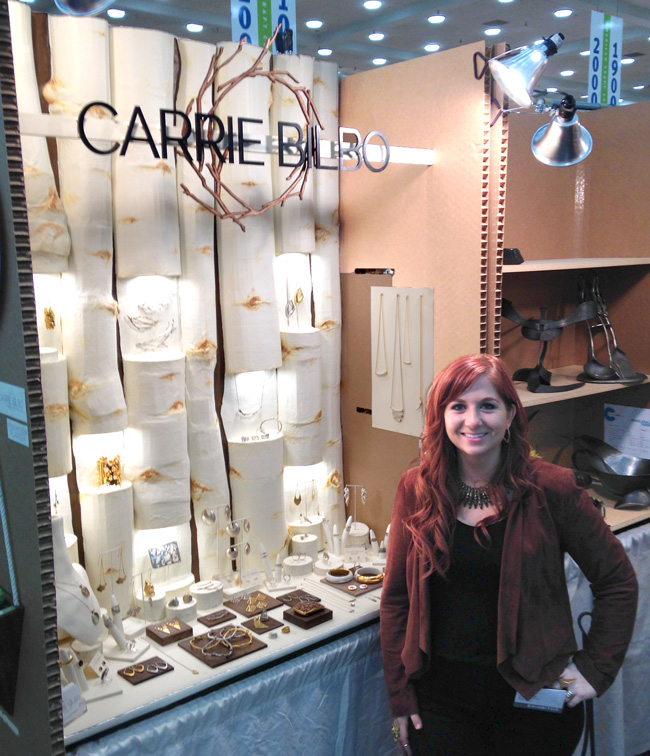 Carrie Bilbo booth design. Hip Pop ACC Baltimore show.