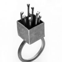 Flowerbox ring by Jane Pellicciotto