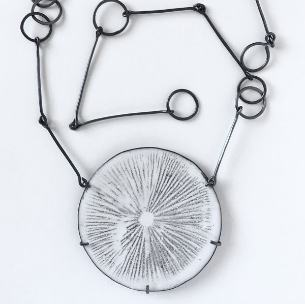 Spore Print Necklace. Jane Pellicciotto