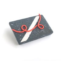 Street Brooch. polymer clay. Jane Pellicciotto