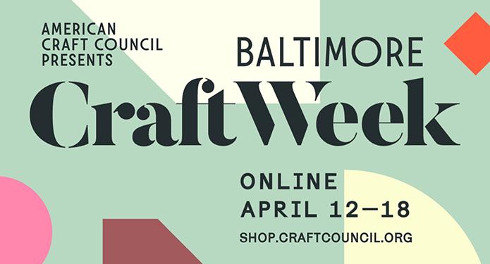 American Craft Council Baltimore Craft Week banner image