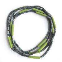 Japanese Glass Bead and Polymer Necklace. Jane Pellicciotto